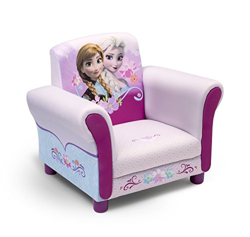 Disney Frozen armchair with Anna and Elsa.