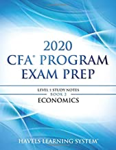2020 CFA Program Exam Prep Level 1: 2020 CFA Level 1, Book 2: Economics (2020 CFA Level 1 Exam Prep)