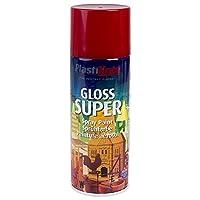 Plasti-kote 1120 400ml Super Gloss - Bright Red