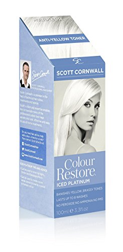 Colour Restore Iced Platinum Anti Yellow Multiple Use Hair Toner - Banish...