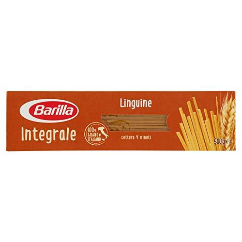 Barilla Pasta Linguine Integrali di Grano Duro, 500g