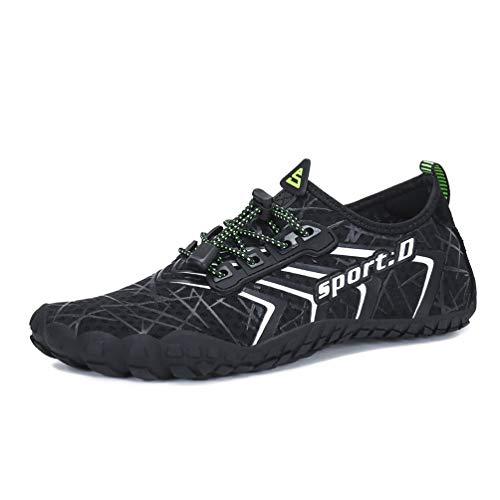 UBFEN Zapatos de Agua Hombre Mujer Zapatillas Snorkel Bucear Surf Depo
