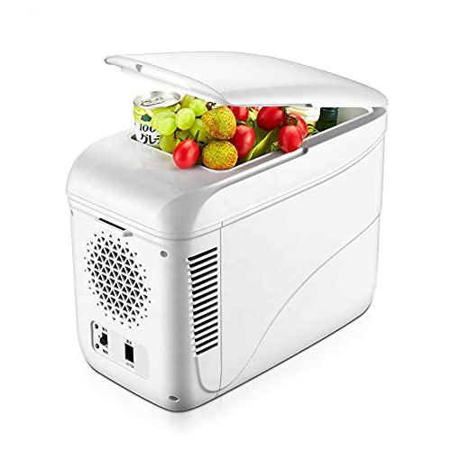 ADGH Refrigerador Portátil con Congelador De 9L, 12 V, CC 12/24 V, Refrigerador Compacto para Automóvil, para Camión, Camioneta, Viaje En Autocaravana, Exterior, Camping, Picnic, Barbacoa