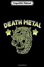 Composition Notebook: Music Skull Cap Gift Ideas Full Death Metal Rocker Gear Journal/Notebook Blank Lined Ruled 6x9 100 P...