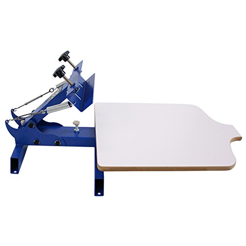 Single 1 Color Station T-Shirt Silk Screen Printing Machine Commercial Bargains NS101