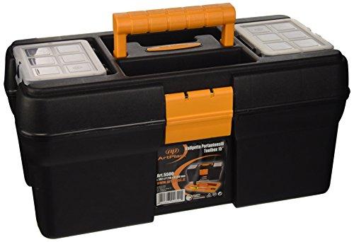 Art Plast Caja de herramientas en polipropileno 15 'L 392 x P 210 x H 188 mm,...