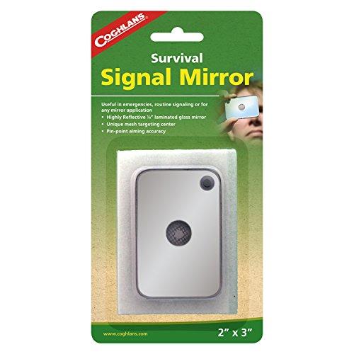 Coghlan's Signal Mirror, Silver, 2' x 3'