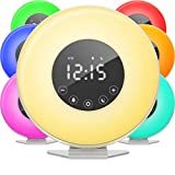 Best Alarm Clocks For Kids - hOmeLabs Sunrise Alarm Clock - Digital LED Clock Review