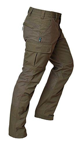 HART Burgoa T - Pantalón de Caza para Hombre, Color Verde