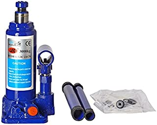 STARVIN® Super Heavy Car Hydraulic Jack for All Cars (Universal) (Blue & Red) G-112
