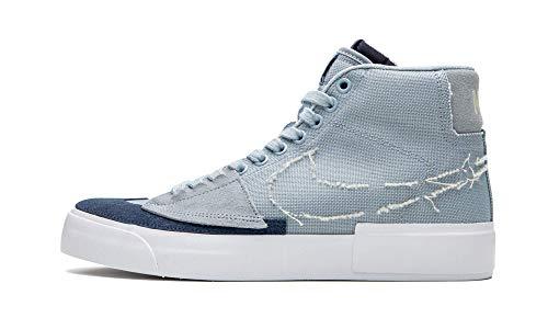 Nike SB Zoom Blazer Mid Edge, Sneaker Unisex-Adulto, Obsidian Mist/Fossil, 45 EU
