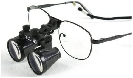 3.5x Binocular All stores are sold Loupes 420mm Working Al sold out. Dental Distance Surgical Lab