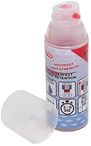 BGS 80616 | Schrauben-Sicherung / Schraubenfest | 50 g | hochfest | hochviskos | Pumpdosierer