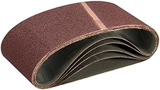 Grain 120 Flexovit Lot de 10 rubans abrasifs en tissu 65 x 410 mm