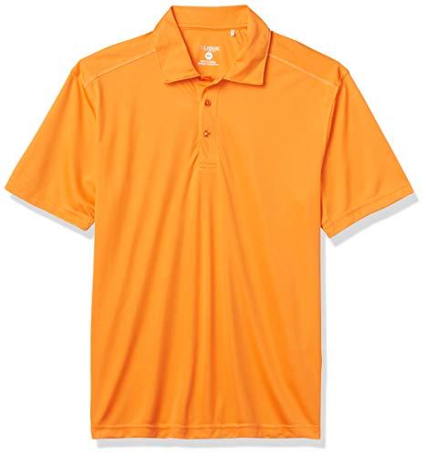 Clique Herren Poloshirt Parma - Orange - 3X-Groß