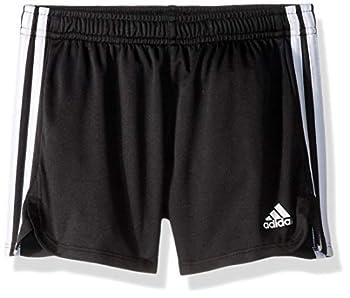 adidas Girls  Big Athletic Shorts Black YTH Medium