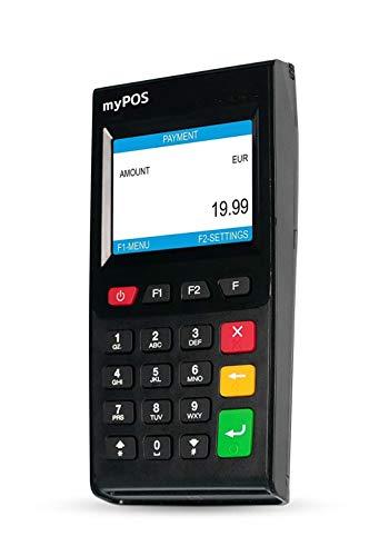 myPOS Go - Mobiles EC-Kartenlesegerät | Kontaktlose, Chip&PIN und Magnetstreifen-Zahlungen