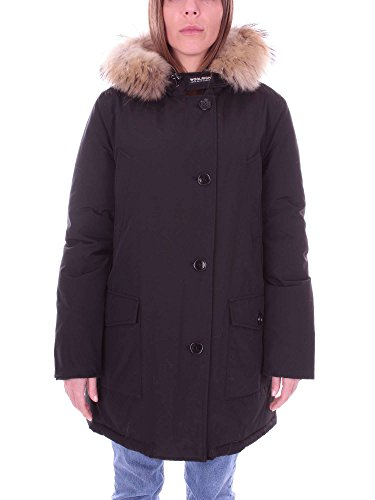 WOOLRICH W's Arctic Parka DF Giacca, Nero (Black), Large Donna
