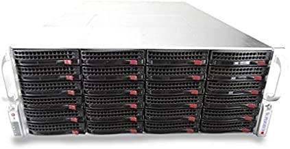 Supermicro CSE-846 4U Rackmount Server with X9DRi-F, 2X Xeon E5-2660 2.2GHz 8 Core, 32GB DDR3, LSI 9210-8i IT Mode, 24x Trays Included, 1200W PSUs, Rails Included (Renewed)