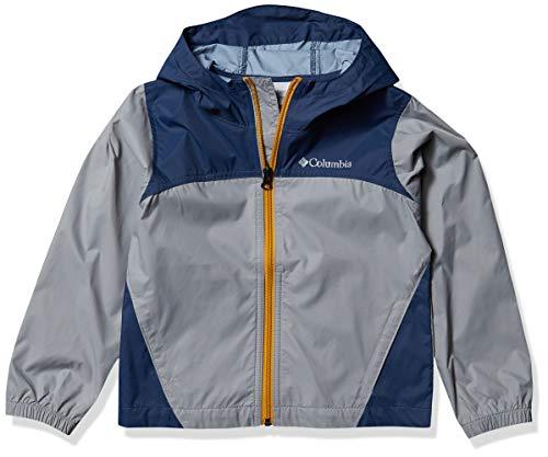 Columbia Boys' Big Glennaker Rain Jacket, Grey/Dark Mountain, X-Large