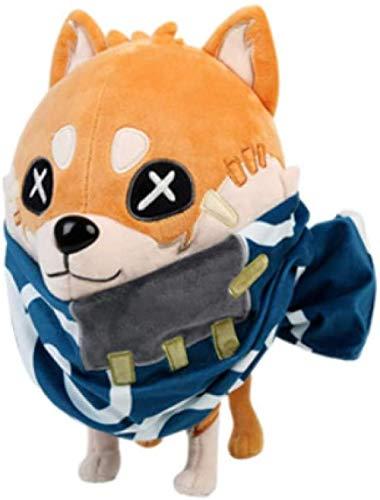 Kshong Anime Game Identity V Attendant Pet Shiba Inu Cosplay muñeco de Peluche Almohada Juguetes de Peluche Lindo Dakimakura Throw Pillow Navidad Regalos 31 Cm