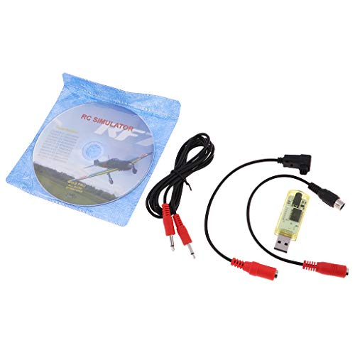 Fenteer 22 In 1 RC USB Flugsimulator Kabel für Realflight G7 / G6 / G5 Phoenix 4