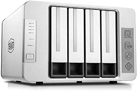 TerraMaster F4 210 4 Bay NAS 1GB RAM Quad Core Network Attached Storage Media Server Personal product image