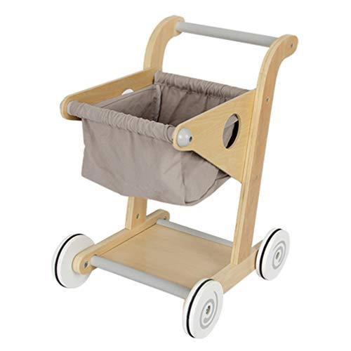 TOYANDONA Mini Carro de Compras Carro de Juguete Carro de Compras Soporte Móvil Cesta de Almacenamiento para El Hogar Cumpleaños Baby Shower Mesa Centro de Mesa Decoración Regalos