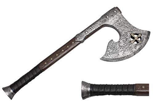 The Cosplay Company 23.5' Medieval High Density Foam Battle Axe