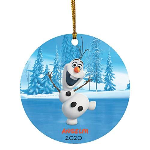 Olaf Frozen Christmas Ornament-Frozen Christmas Ornament-Kids Christmas Ornament-Olaf Frozen Keepsake