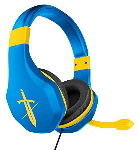 FR-TEC - Auriculares Gaming Headset Sword Azul Nintendo