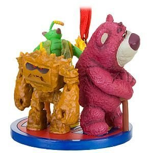 Disney Store Lots-o'-Huggin' Bear, Twitch and Chunk Toy Story 3 Ornament by Disney