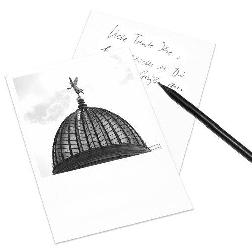 COGNOSCO Postkarte Dresden im Polaroid-Look - Motiv: Zitronenpresse