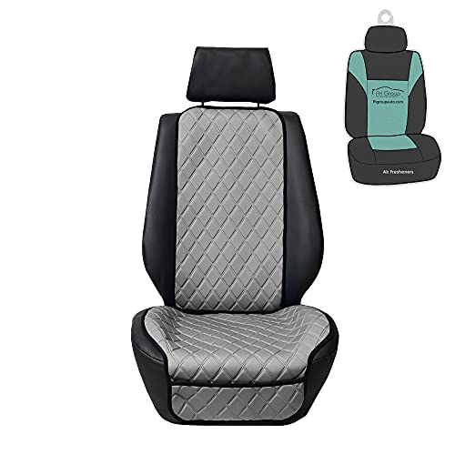FH Group Car Front Seat Protectors Water Resistant Air Bag Compatible, (One...
