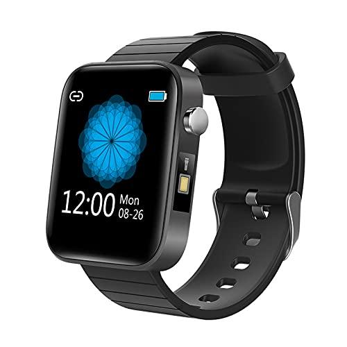 Reloj inteligente para teléfonos Android iOS, Relojes inteligentes para hombres y mujeres, Relojes Bluetooth con pantalla táctil de 1.54 ', Podómetro a prueba de agua IP67, Reloj con monitor de sueñ