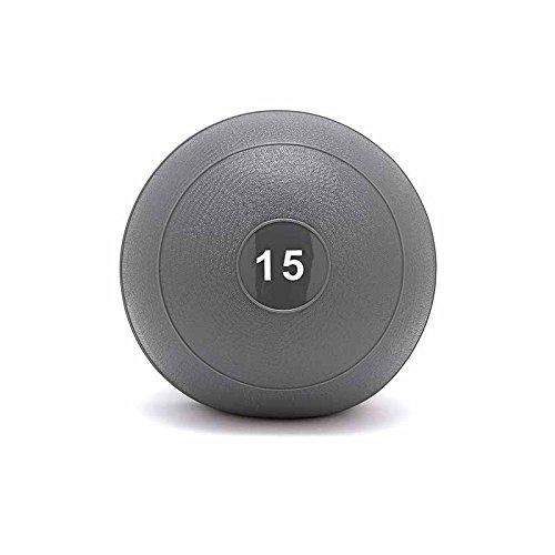 OneFitWonder Slam Ball by Fringe Sport/Weighted Ball + Dead Bounce/StrengthTraining Equipment (15lb)