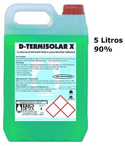 Liquido Caloportador con base de Propilenglicol Biodedetex Termisolar X-5