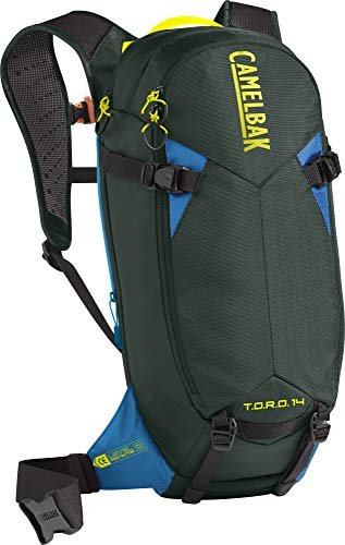 Camelbak T.O.R.O. Protector 14 Rucksack, Dry Deep Forest/Brilliant Blue, one Size