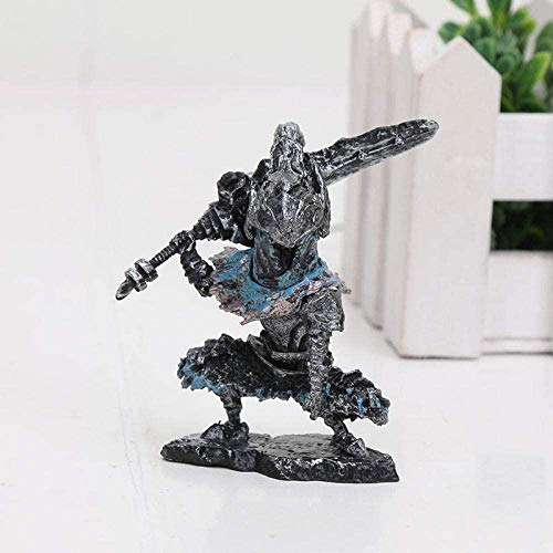 cheaaff 5cm Dark Souls 3 Artorias Faraam Knight Edición Limitada Avatar NS Estatua The Abysswalker PVC Figura de colección Modelo Toy-2-2