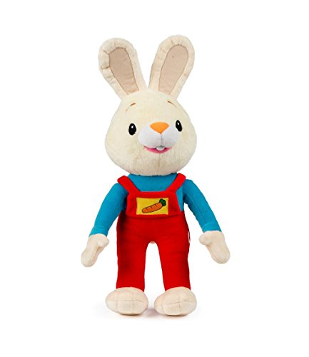 Bunny of The Year Baby First TV: Harry The Bunny Soft Plush Toy - Stuffed Animals for The Perfect Baby Shower Gift. Baby First Year Plush Toys. Infant Toddler Baby Toys - BabyFirst