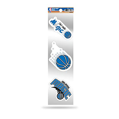 Rico Industries NBA Orlando Magic 3-Piece Retro Spirit Decals