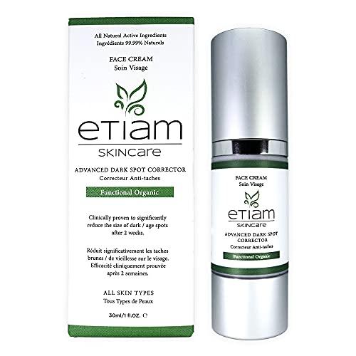 Etiam Advanced Dark Spot Remover for Face, Clinically proven to reduce Dark...