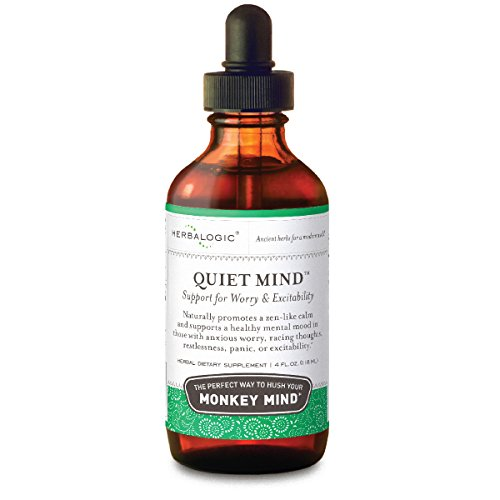 Quiet Mind Herbal Anxiety Relief, 4 Fluid Ounce