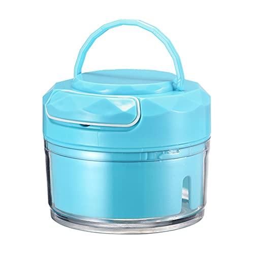 Mini procesador de alimentos, picador de alimentos, picador de verduras, picador de alimentos para bebés, mini herramienta de cocina para salsas ajo