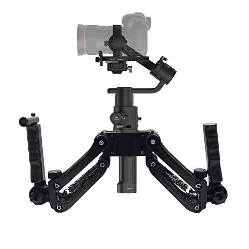 Waroomss stabilizzatore portatile di telecamera, Stabilizzatore giroscopico a mano Osmo Handheld anti-vibrations stabilizzatore di cardano del 4ème asse supporto per telecamera per DJI Ronin S