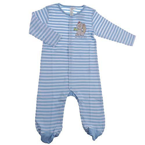 TVM Europe GmbH NICI Combinaison à Manches Longues pour bébé 100% Coton - Multicolore - 74-80 cm