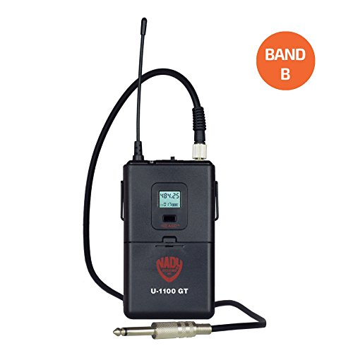 Nady Guitar/Instrument Wireless Transmitter for Nady U-1100 and U-2100 – Band B