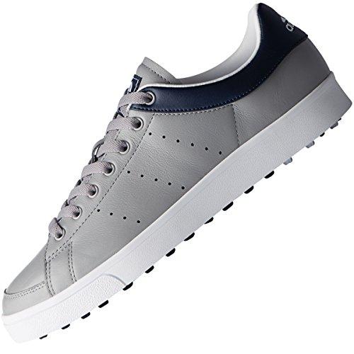 adidas Jr Adicross Classic, Zapatillas sin Cordones Unisex niño, Gris (Gris/Azul F33760), 39 1/3 EU