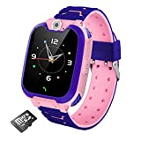 Kids Smart Watch for Boys Girls- Kids Smartwatch Phone with Calls Games Camera Recorder Alarm Music Player Calculator 12/24 hr HD Touch Screen, Children Smart Watch Gifts for Kids Age 4-12