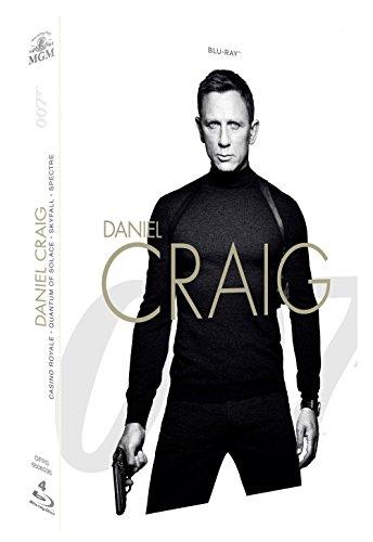 James Bond 007 - Daniel Craig: Casino Royale + Quantum of Solace + Skyfall + Spectre [Blu-ray]
